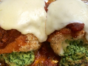baked mozzarella chicken