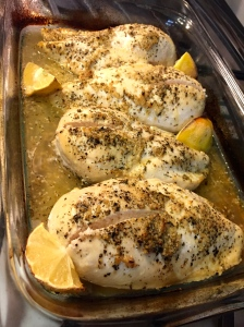 Baked Herb Lemon Chicken